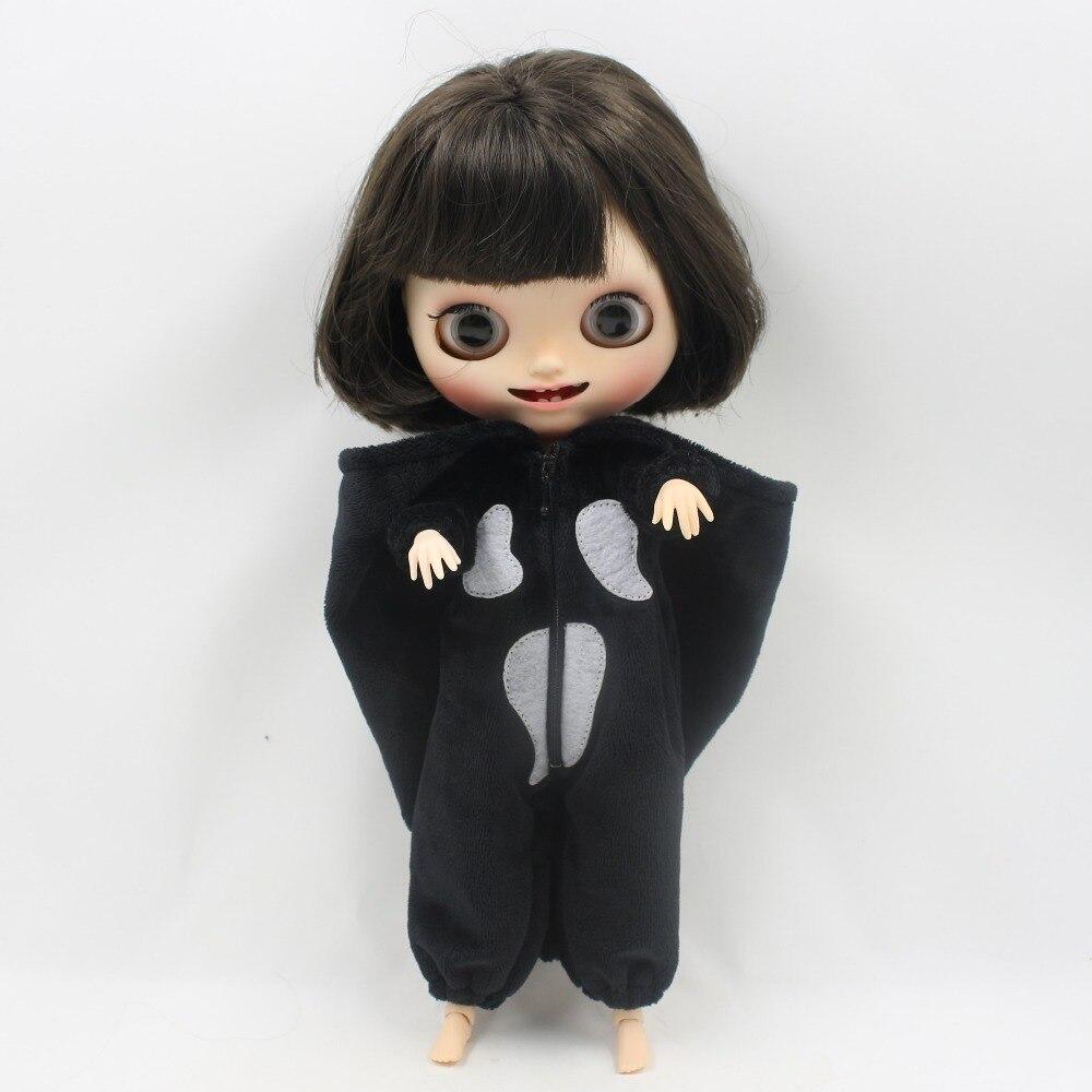 Neo Blythe Doll Halloween Bat Dress 8