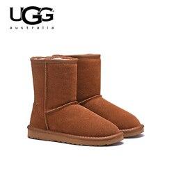 2019 Original New Arrival UGG Boots 5825 Women uggs snow shoes Sexy  Winter Boots UGG Women's Classic Short Sheepskin Snow Boot