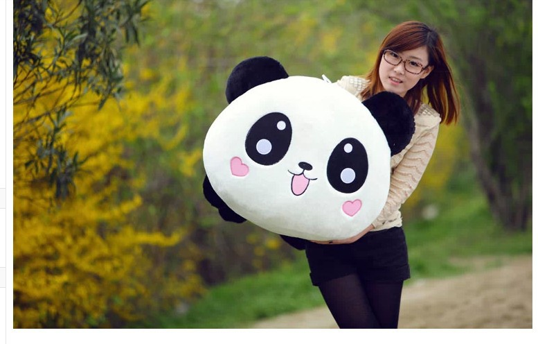 Stuffed animal panda large Laying Panda about 35 inch plush toy 90cm doll GIFT wp68 cartoon panda i love you dress style glasses panda large 70cm plush toy panda doll throw pillow proposal christmas gift x025