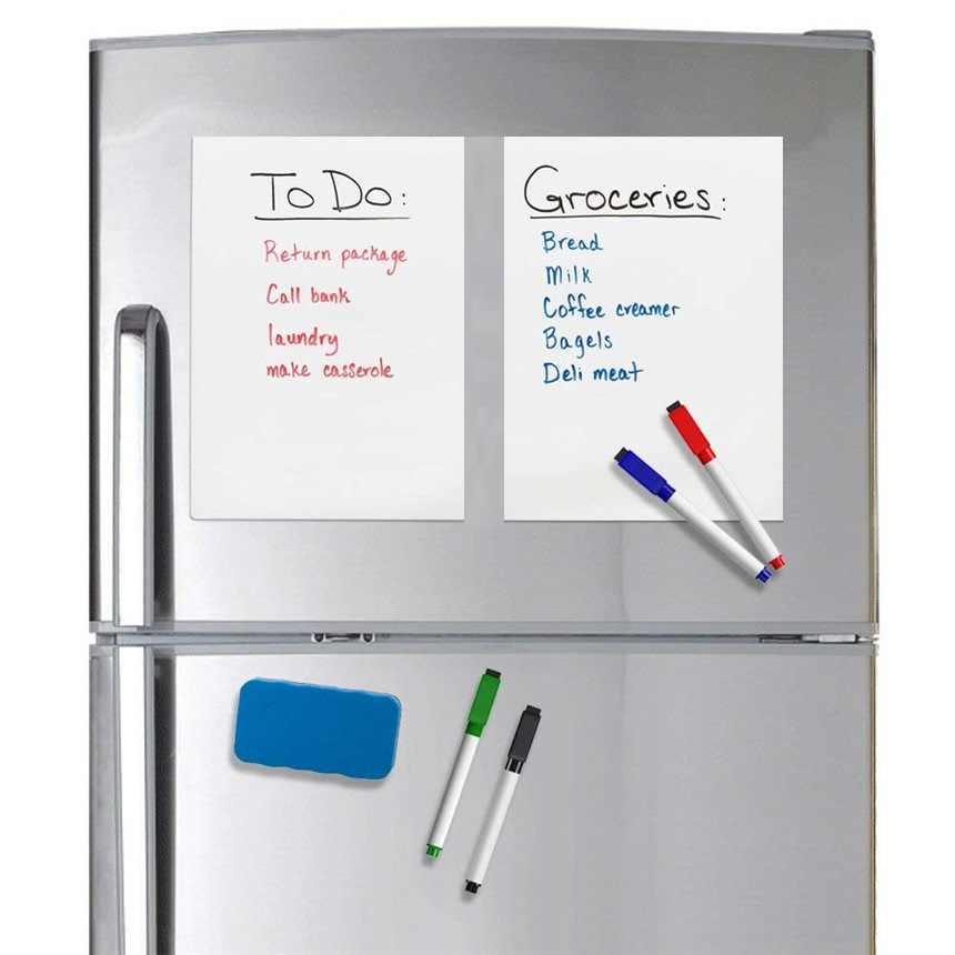 Magnet whiteboard a5 soft magnetic board message board for refrigerator HU