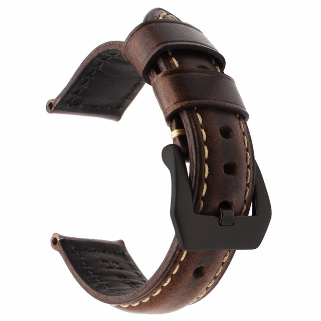 Italy Genuine Oil Leather Watchband 22mm +Tool for Samsung Gear S3 Classic Frontier Watch Band Steel Buckle Belt Wrist Bracelet