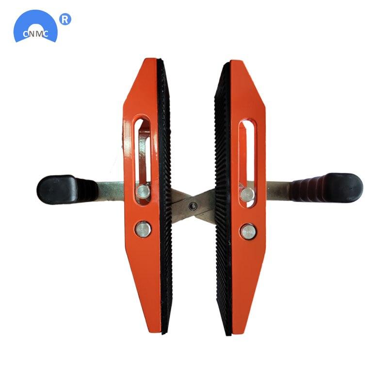 Tools : Double Handed stone slab clamp pair granite scissor lifting tool
