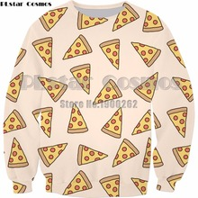 PLstar Cosmos Pizza Pattern/ Pineapple Dream/ Oranges 3D Printed Man women Sweatshirt fashion hoodies Plus size S-5XL