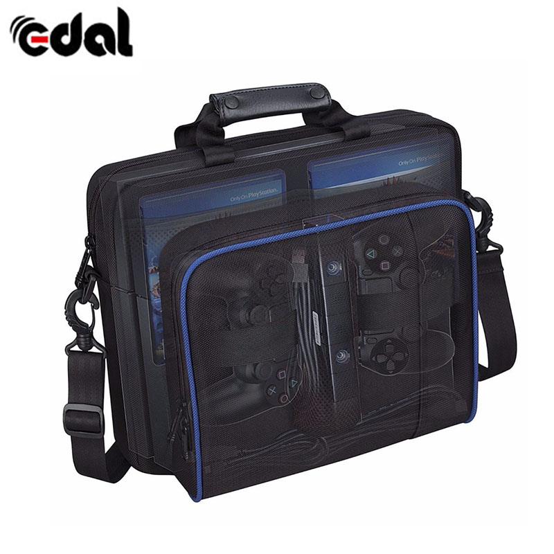 EDAL PS4 Bag Travel Storage Carry Case Controller Waterproof Protective Bag For Sony Playstation 4 Accessories