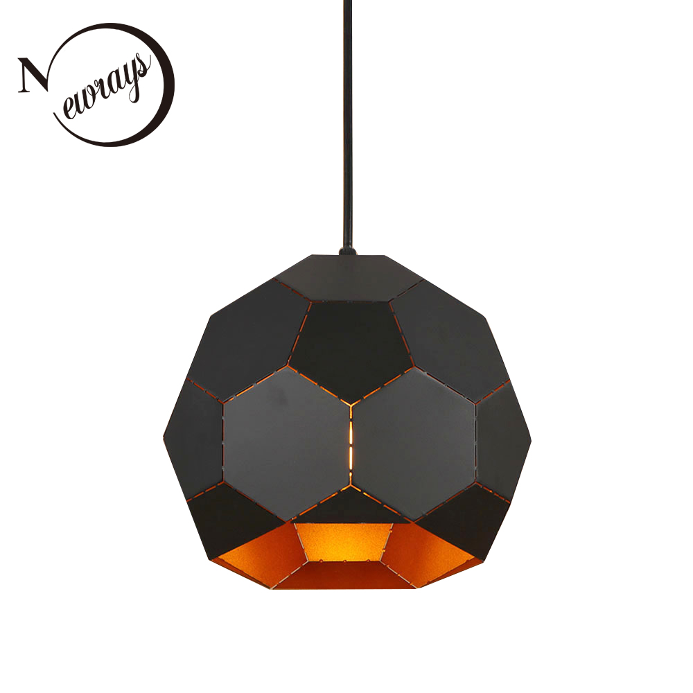 Simple nordic iron pendant light LED E27 modern country loft hanging lamp with 3 colors for living room restaurant kitchen rooms diabetes self management in rural palestinian community