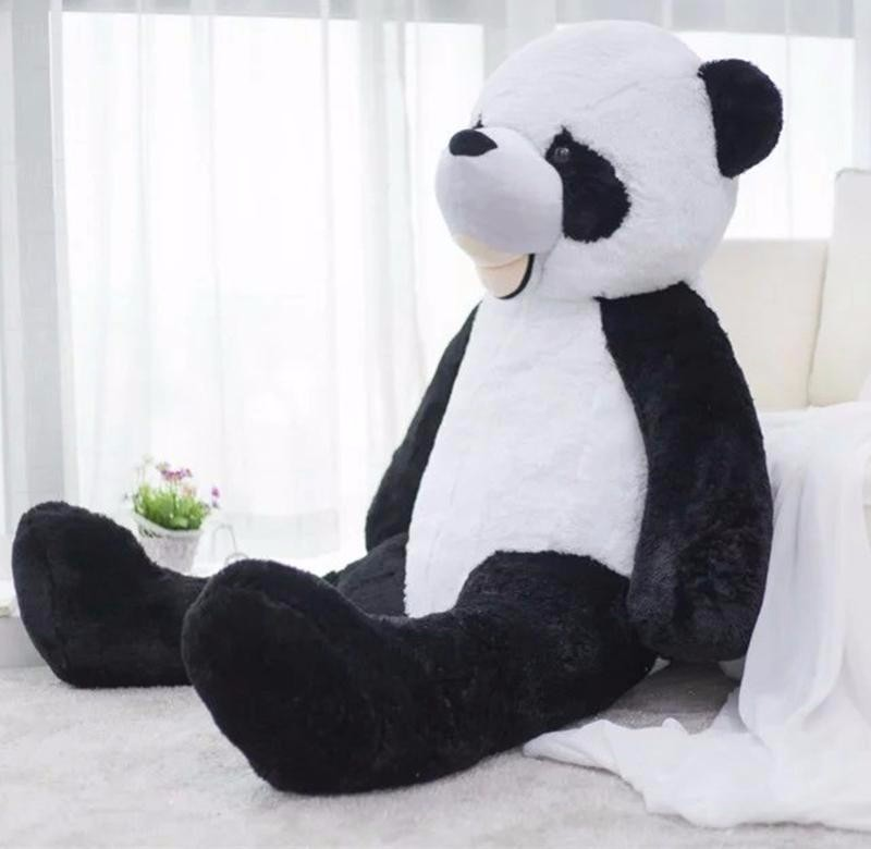 2019 300cm Giant Smile Panda America Big Panda Bear Stuffed Plush