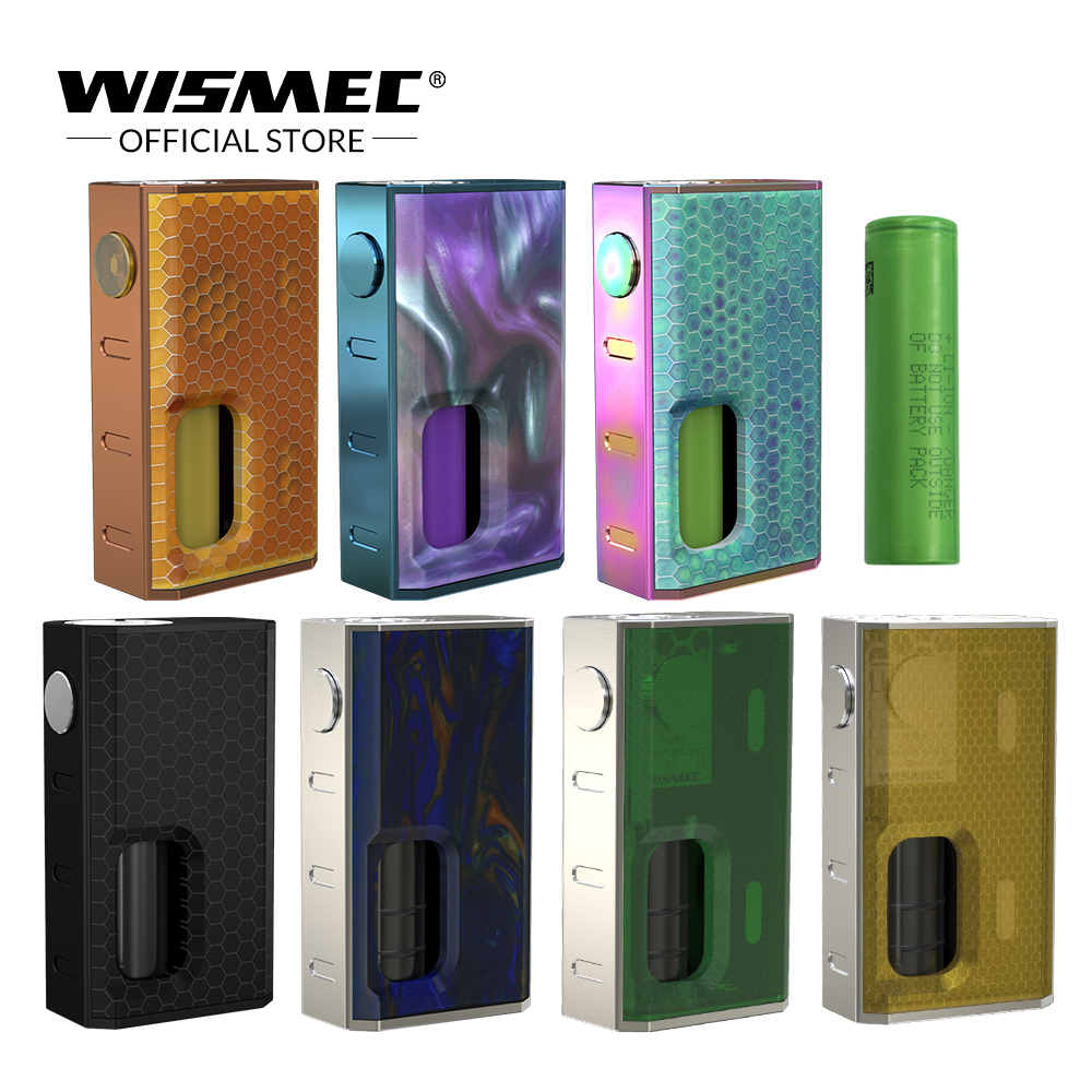 [Official Store]Original Wismec LUXOTIC BF Box Mod with 7.5ml Squonker bottle 100W Mechanical Mod with 18650 Battery E-cigs vape new original wismec luxotic squonker kit tobhino bf rda