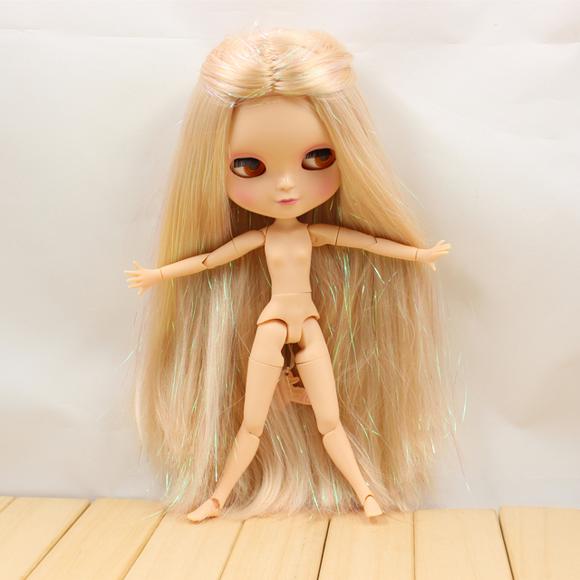 Fortune Days F&D New ICY DBS Doll Same As Factory Nude Doll Joint Body Golden Shiny Hair