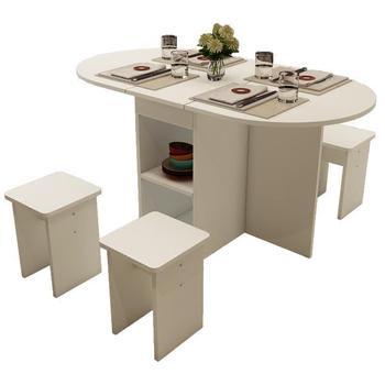 Sala da pranzo Cucina Yemek Masasi Piknik Masa Sandalye Set Sala ...
