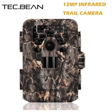 TEC.BEAN 12mp Scouting Hunting Camera Night Vision 940nm IR GPS Infrared Trail Cameras 2.0′ LCD IR Game Hunter Cam