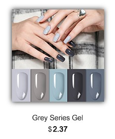 Grey Gel Polish