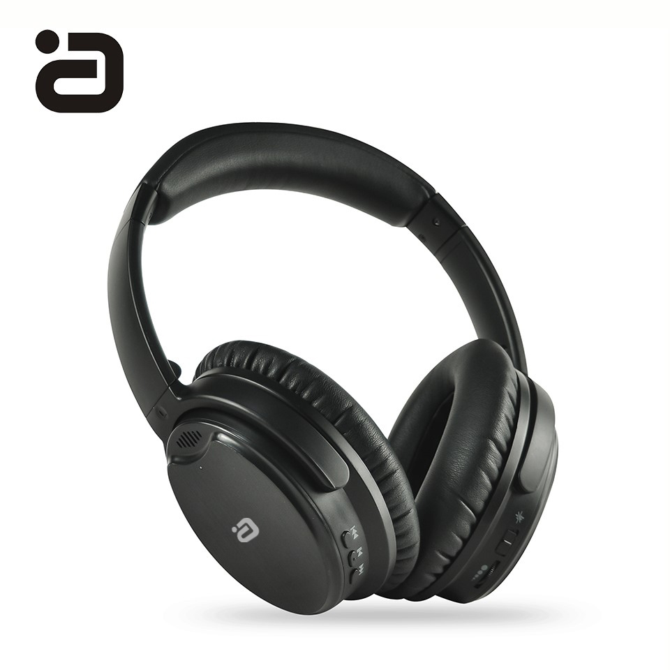 EP850 Bluetooth 4.2 Active Noise Cancelling Headphones Wireless/Wired Headset with Mic ANC Headphone with Carrying Bag for Phone origial mpow h5 2nd generation anc wireless bluetooth headphone wired wireless with mic carrying bag for pc iphone huawei xiaomi