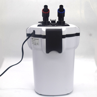 Aquarium filter ultra quiet external aquarium filter bucket with UV lamp fish tank filter better than sunsun filter HW603b