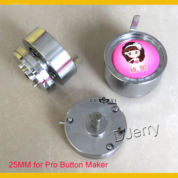 """Round 1""""(25mm) Interchangeable Die Mould for New Pro Badge Machine Button Maker"""