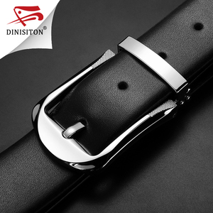 Image 5 - DINISITON High Quality First Layer Belt Cow Genuine Leather Belts For Men Business Pin Buckle Designer Strap Male Cinto PX217
