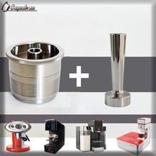 Capsulone/EDELSTAHL Metall Nachfüllbar Wiederverwendbare kapsel Kompatibel illy kaffeemaschine maker/geschenk fit für illy cafe kapsel
