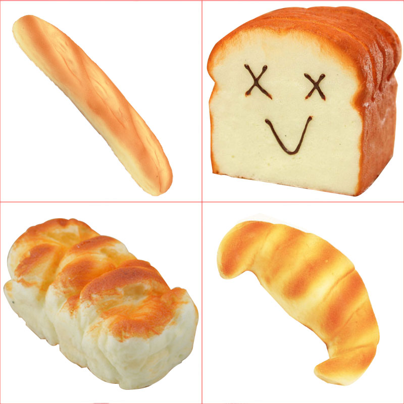 Selfless Kawaii Jumbo Squishy Toast Bread Simulation Food Slow Rising Squishies Toys Antistress Scent Soft Bun Phone Strap Mobile Phone Accessories Cellphones & Telecommunications