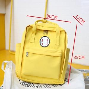 Image 5 - 2020 New Nylon Printing School Bag For Teenagers Girls Student High Quality Women Travel Laptop School Backpacks Female Book Bag