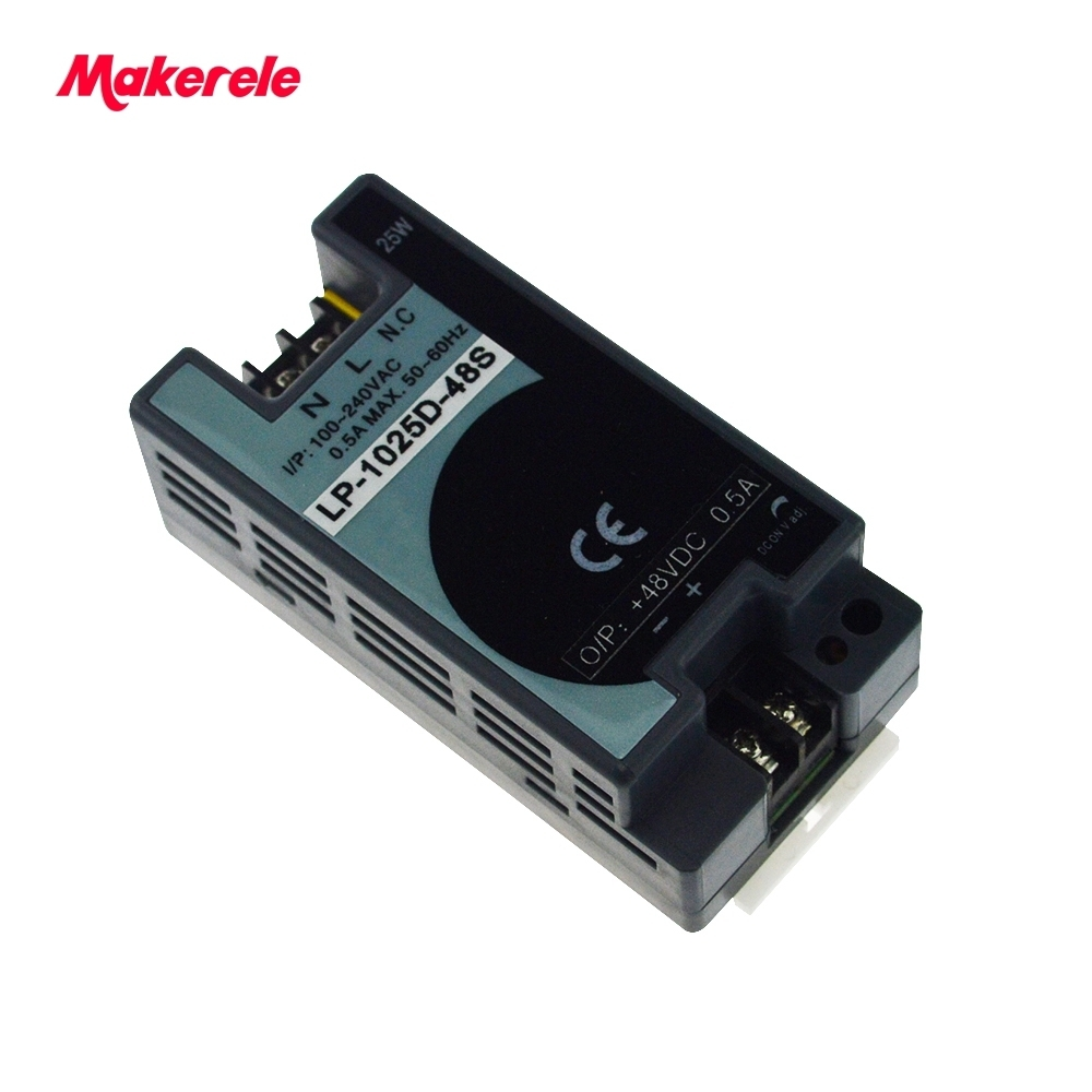 Free Shipping 25w ac dc switching power supply 5V 12V 24V 48V din rail mini size Single Output 100 240V input LED driver in Switching Power Supply from Home Improvement