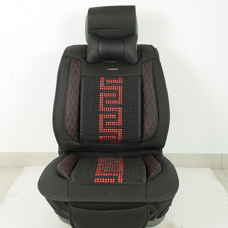 Black Beige Red Golf 5 seat covers santafe car seat cushion covers car seat covers accent yeti mm seat fundas coche universale