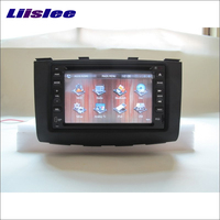 Liislee For Nissan Rogue 2008~2013 Car Radio Stereo CD DVD Player GPS Navi Navigation System Double Din Audio Installation Set