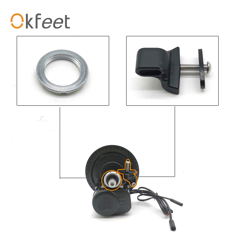 Okfeet TSDZ2 Tongsheng Mid Drive Motor Electric Bicycle Ebike Conversion Kit Screw Fixed Parts Accessories