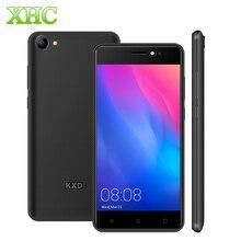 Оригинальный KXD KENXINDA W50 Оперативная память 1 ГБ Встроенная память 8 GB смартфон 5,0 »Android 6,0 MTK6580 4 ядра двойной 5MP Dual SIM WCDMA 3g мобильного телефона