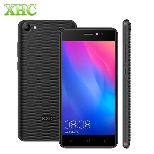 Original KXD KENXINDA W50 RAM 1GB ROM 8GB Smartphone 5.0'' Android 6.0 MTK6580 Quad Core Dual 5MP Dual SIM WCDMA 3G Mobile Phone