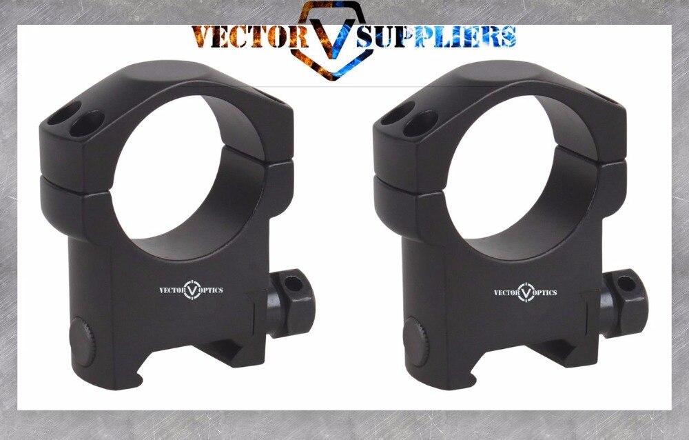 Тактический прицел Vector Optics 30 мм, высокопрофильный прицел для винтовки, кронштейн для кольца Picatinny Weaver, основание 21 мм, черный матовый