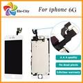 Preto, branco para iphone 6 6g screen display lcd com tela de toque digitador assembléia substituição melhor
