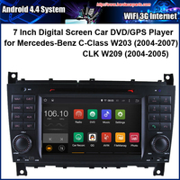 Android Car DVD Player For Mercedes Benz C Class W203 GLK W209 With Radio GPS Navigation