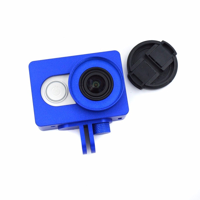 Sport-Camera-Accessories-Protective-Frame-Case-Lens-Cap-Cover-Aluminum-Alloy-for-Xiaomi-Yi-4K-Action (3)