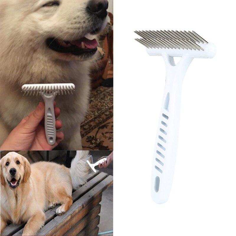 Remove Pet Groom Rake Brush Comb Pet Dog Short Long Thick Hair Fur Shedding Dog Supplies