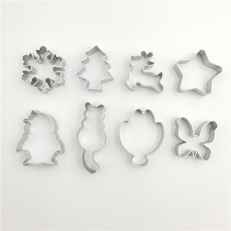 Cookies Cutter Mold Form For Cakes Aluminium Alloy Biscuit