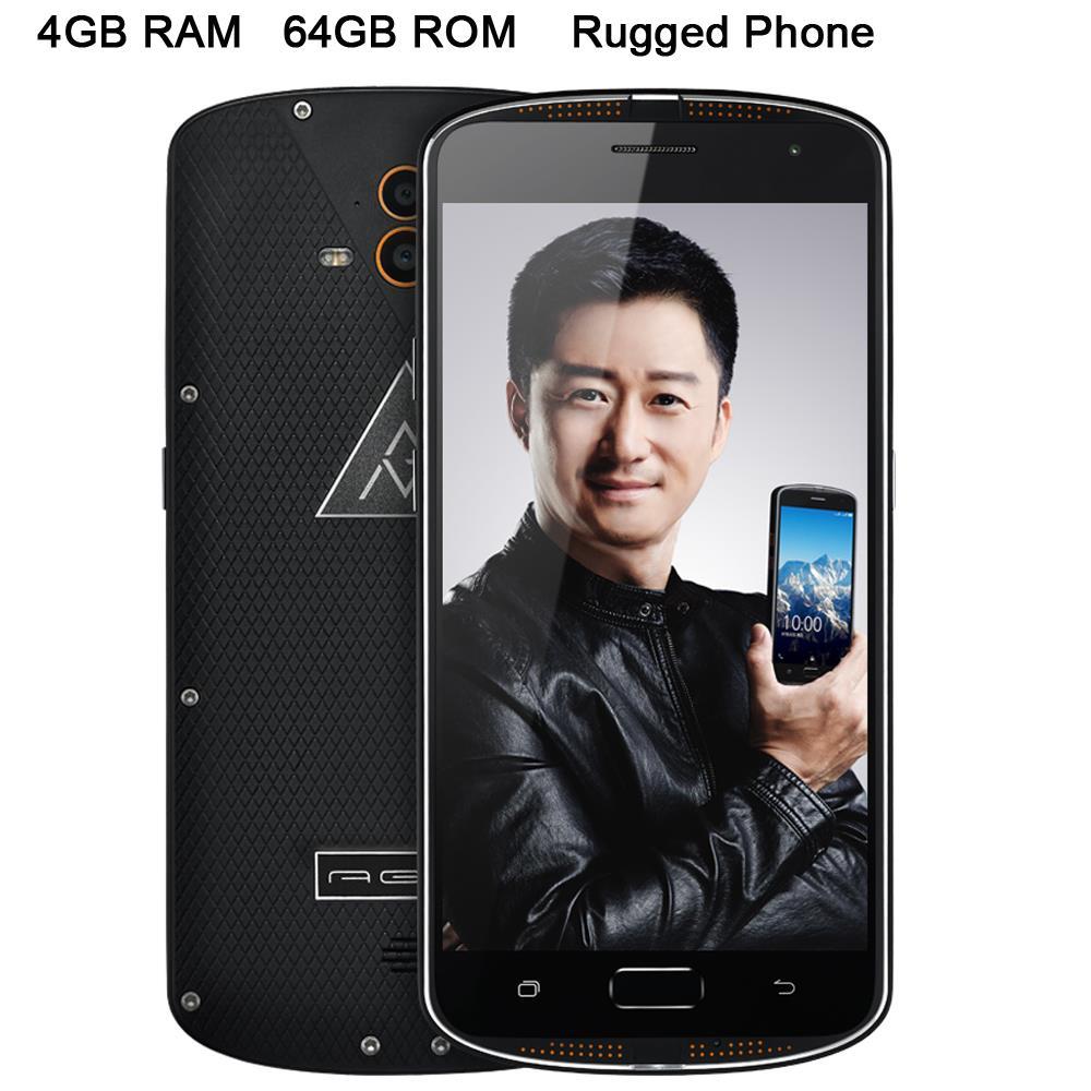 D'origine X1 Octa Core ip68 Robuste Téléphone Étanche Antichoc Double Caméra 13.0mp 5.5 FHD 1920x1080 4 gb RAM 4g Android 5.1