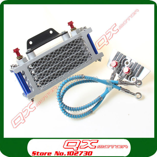 High Qualtiy Oil Cooler for 50/70/90/110cc Horizontal Engine dirt bike/pit bike/money bike/ATV Quad Free shipping