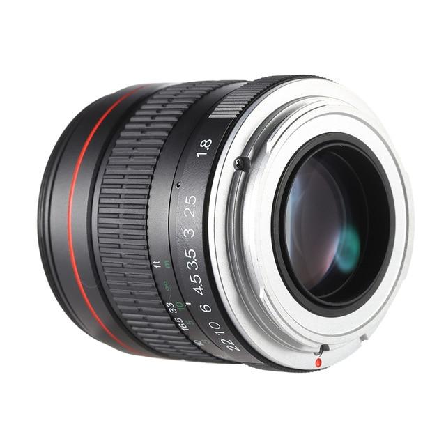 85mm f 1 8 manual focus portrait lens for canon 80d 7d 70d 750d 760d rh aliexpress com Canon Camera Lens Hood Canon Camera Lens Hood