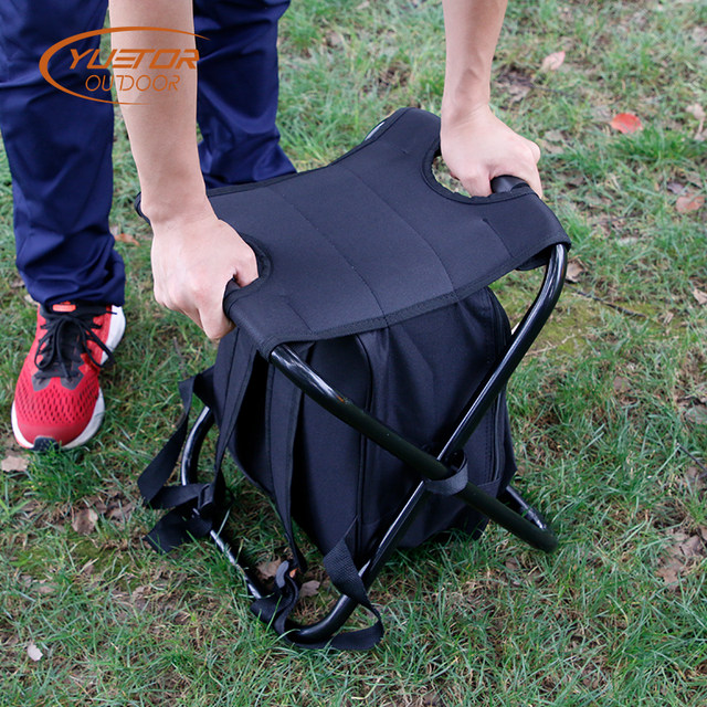 Ice Fishing Lawn Chair Swing Steel Online Shop 3 In 1 Backpack Outdoor Picnic Multifunction Bag Oxford Cloth Portable Folding Camping Chairs