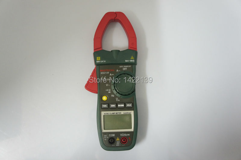 MASTECH MS2138 Digital AC DC Clamp Meter Electrical Current Voltage Ampere Tester with High Performance купить