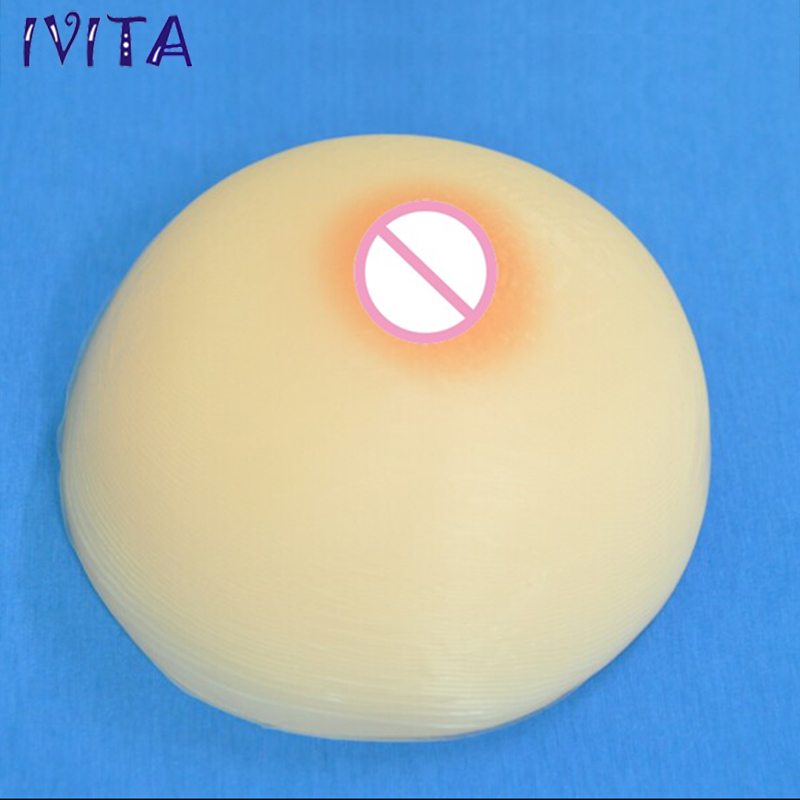4100g/pair Beige Round Cross Dresser Silicone Breast Artificial False Fake Boobs Huge Breast Forms For Flat Chest Drag Queen