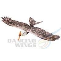 2019 New Eagle II Wingspan 1430mm DW RC Airplane EPP Biomimetic Plane Model Eagle Slow Flyer Aircraft Model With Motor ESC Servo