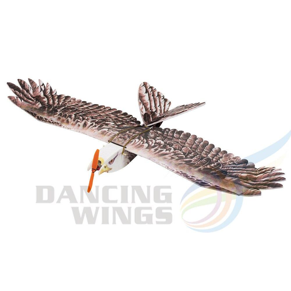 2019 nouveau aigle II envergure 1430mm DW RC avion EPP modèle d'avion biomimétique aigle modèle d'avion lent Flyer avec servomoteur ESC