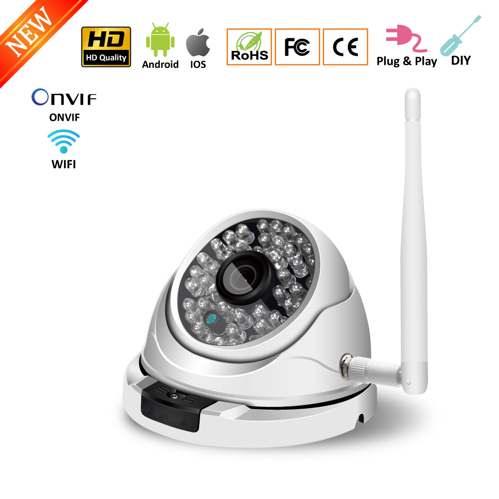 Wireless WiFi Outdoor Camera 2MP 1080P HD Home Surveillance Security Camera Waterproof Dome CCTV Camera Support TF Card ONVIFWireless WiFi Outdoor Camera 2MP 1080P HD Home Surveillance Security Camera Waterproof Dome CCTV Camera Support TF Card ONVIF