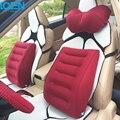 Hot Inflável 1 pc Tampa de Assento almofada de apoio Lombar Carro de volta almofada Portátil para home office cadeira de assento de carro Universal styling