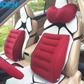 Hot Inflatable 1pc Car Lumbar support cushion Seat Cover back cushion Portable for home office chair Universal seat car styling