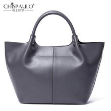 Новая модная сумка из натуральной кожи, повседневная сумка-тоут, большая Вместительная женская сумка, кожаная сумка на плечо, брендовая дизайнерская женская сумка