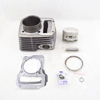 High Quality Motorcycle Cylinder Piston Ring Gaskte Kit for TYAN TY223 TY 223 Bosuer Dirt Bike Off Road Raw Color