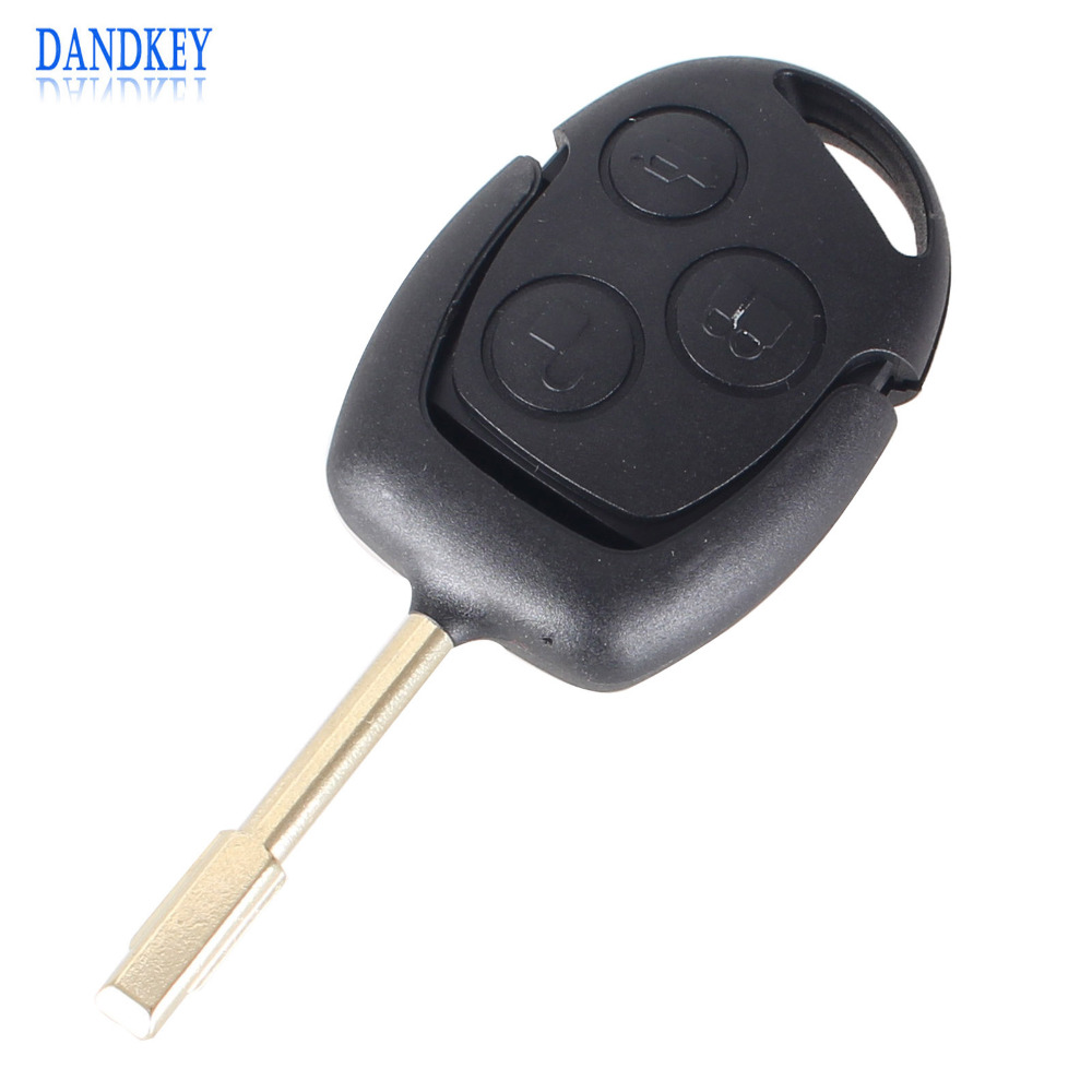 Dandkey new replacement remote key for ford fiesta focus mondeo puma ka for 3 buttons fob