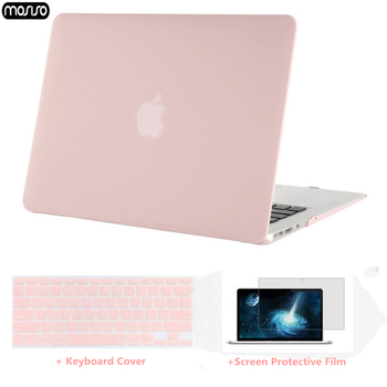MOSISO Laptop Case For Apple MacBook Air 13 inch A1466 Matte Laptop Cover for Macbook Pro Retina13 A1502/A1425 + Keyboard Cover цена 2017