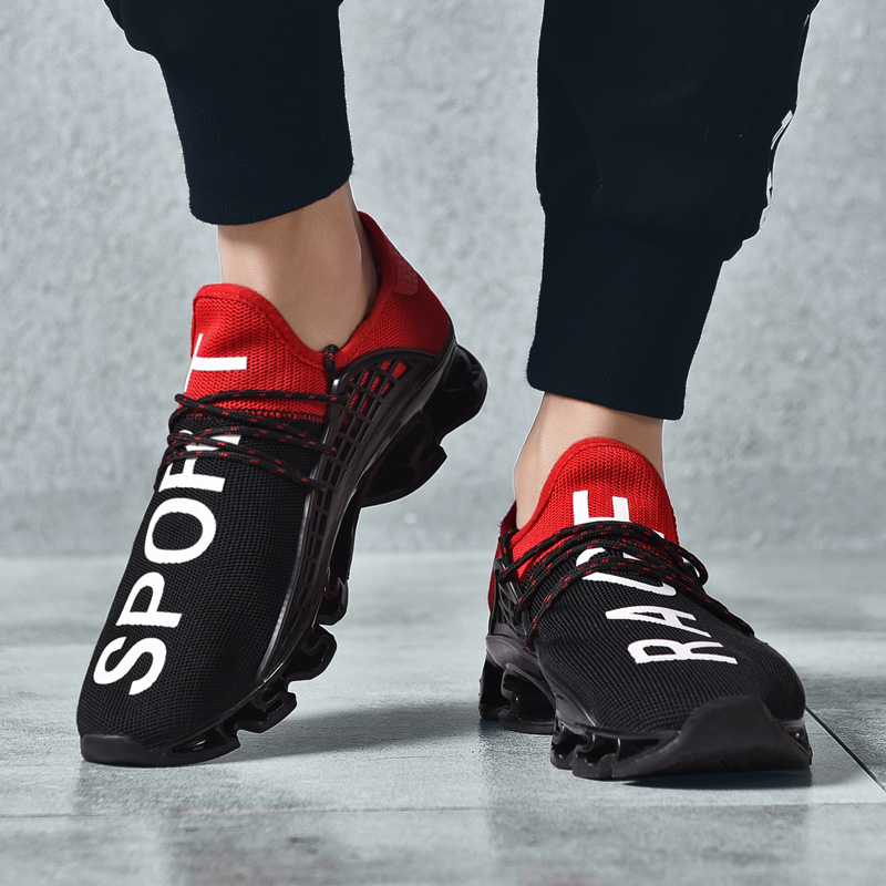 Sports Plein Couple Air Sneakers Mode Black Campus Sport Breathalbe Adulte Casual red Amoureux Course Nouvelle Jeunes Hommes De Homme white Chaussures 7gaOq4Anwx